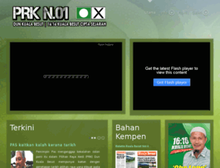 prkkualabesut.pas.org.my screenshot