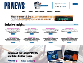 prnewsonline.com screenshot