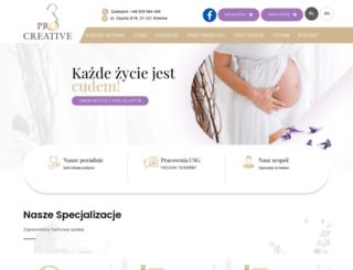 pro-creative.pl screenshot