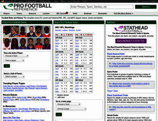pro-football-reference.com screenshot