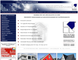pro-future-massivhaus.de screenshot
