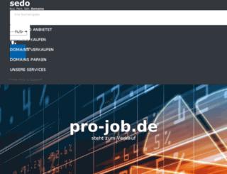 pro-job.de screenshot