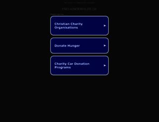 pro-kinderhilfe.de screenshot