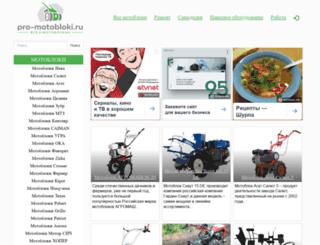 pro-motobloki.ru screenshot