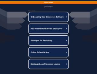 pro-ms.fr screenshot