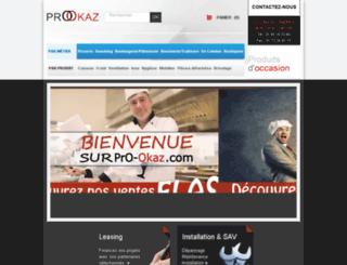 pro-okaz.fr screenshot