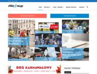 pro-run.pl screenshot