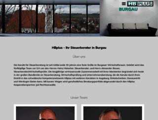 pro-tax-burgau.de screenshot