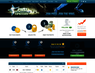 pro-tipsters.com screenshot