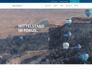 pro-votum.de screenshot