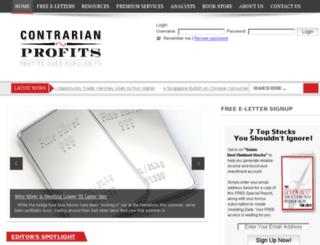 pro.contrarianprofits.com screenshot