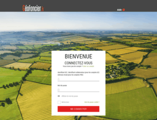 pro.geofoncier.fr screenshot