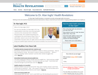 pro.healthrevelations.net screenshot