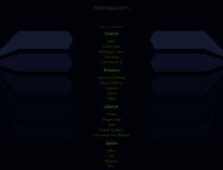 pro.horinaja.com screenshot