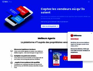 pro.meilleursagents.com screenshot