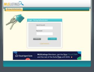 pro.mlslistings.com screenshot