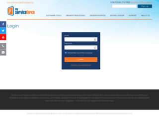 pro.myserviceforce.com screenshot