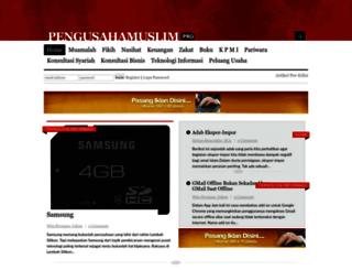 pro.pengusahamuslim.com screenshot