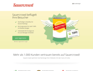 pro.sauercrowd.net screenshot