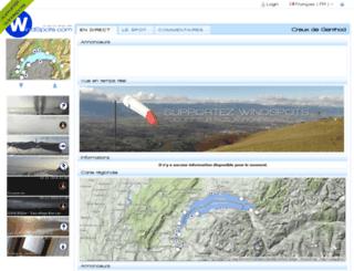 pro.windspots.com screenshot