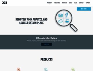 pro.x1.com screenshot