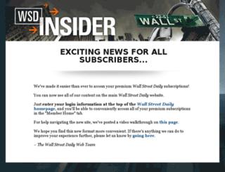 pro1.wsdinsider.com screenshot