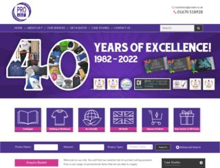 proad.co.uk screenshot