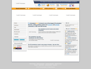 proanimationbank.com screenshot