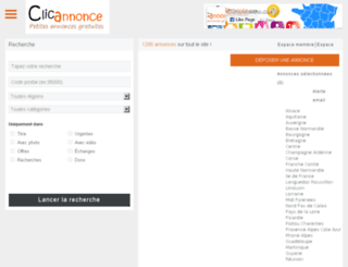 proannonce.com screenshot