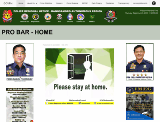 proarmm.pnp.gov.ph screenshot