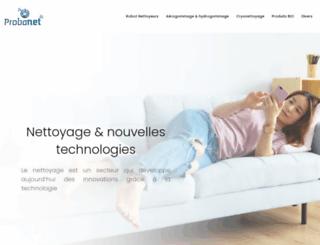 probanet.fr screenshot
