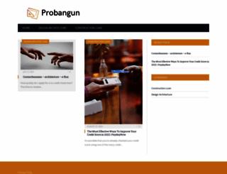 probangun.com screenshot