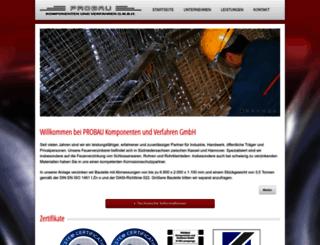 probau.org screenshot