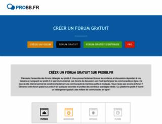 probb.fr screenshot