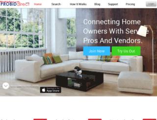 probiddirect.com screenshot