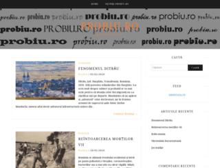 probiu.ro screenshot