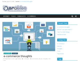 problog.gr screenshot