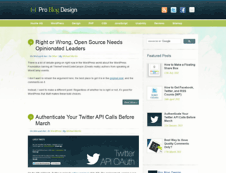 problogdesign.com screenshot