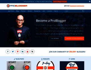 problogger.net screenshot