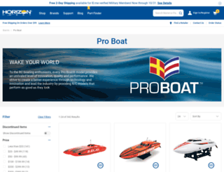 proboatmodels.com screenshot
