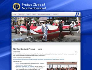 probusnorthumberland.com screenshot