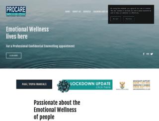 procare.co.za screenshot
