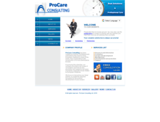 procareconsult.com screenshot
