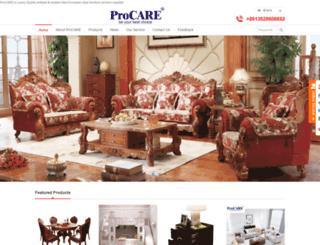 procarecorp.com screenshot