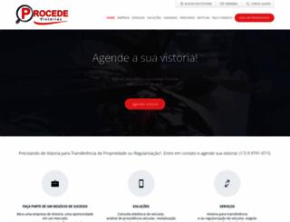 procedevistorias.com.br screenshot