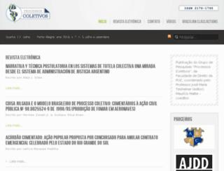 processoscoletivos.net screenshot