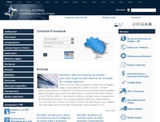 processual-ba.trf1.gov.br screenshot