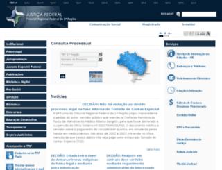 processual-go.trf1.gov.br screenshot