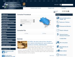 processual-pa.trf1.gov.br screenshot