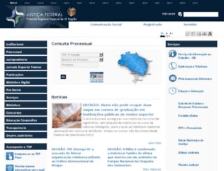 processual-pi.trf1.gov.br screenshot
